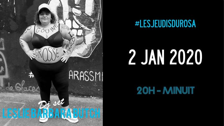 Les Jeudis du Rosa // Leslie Barbara Butch in Paris le Do  2. Januar, 2020 21.00 bis 23.59 (After-Work Gay Friendly, Lesbierin Friendly)