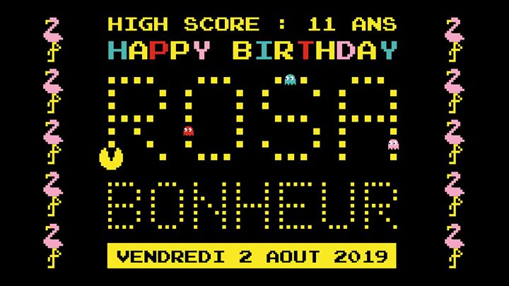 Les 11 ans du Rosa Bonheur in Paris le Fri, August  2, 2019 from 06:00 pm to 12:00 am (After-Work Gay Friendly, Lesbian Friendly)