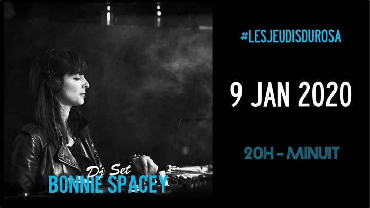 Les Jeudis du Rosa // Bonnie Spacey in Paris le Do  9. Januar, 2020 20.00 bis 23.59 (After-Work Gay Friendly, Lesbierin Friendly)