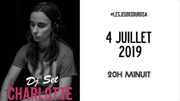 Les Jeudis du Rosa // Charlotte in Paris le Thu, July  4, 2019 from 08:00 pm to 12:00 am (After-Work Gay Friendly, Lesbian Friendly)