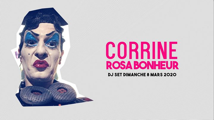 Les Dimanches du Rosa // Corrine à Paris le dim.  8 mars 2020 de 20h00 à 23h59 (After-Work Gay Friendly, Lesbienne Friendly)