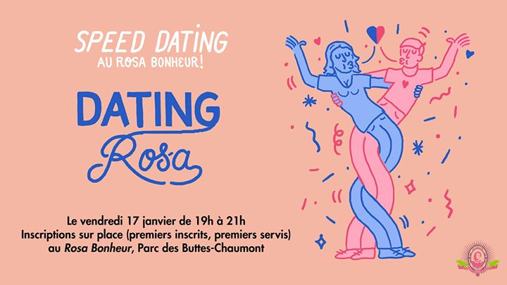 Dating Rosa à Paris le ven. 17 janvier 2020 de 19h00 à 21h00 (After-Work Gay Friendly, Lesbienne Friendly)