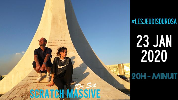 Les Jeudis du Rosa // Scratch Massive DJ Set a Parigi le gio 23 gennaio 2020 20:00-23:59 (After-work Gay friendly, Lesbica friendly)