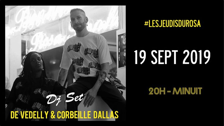 Les Jeudis du Rosa // De Vedelly & Corbeille Dallas à Paris le jeu. 19 septembre 2019 de 20h00 à 00h00 (After-Work Gay Friendly, Lesbienne Friendly)
