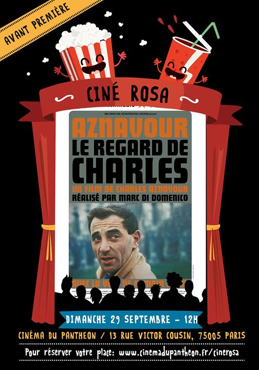 Ciné Rosa : Le Regard de Charles in Paris le So 29. September, 2019 12.00 bis 14.00 (Kino Gay Friendly, Lesbierin Friendly)