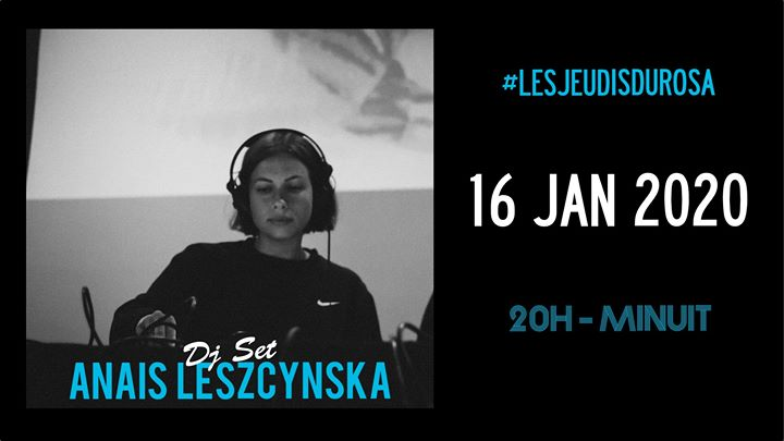 Les Jeudis du Rosa // Anais Leszcynska em Paris le qui, 16 janeiro 2020 20:00-23:59 (After-Work Gay Friendly, Lesbica Friendly)