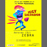 Antoine DJ Zebra présente Iggy Salvador // PARIS, Rosa Bonheur in Paris le Thu, March 21, 2019 from 06:00 pm to 11:59 pm (After-Work Gay Friendly, Lesbian Friendly)