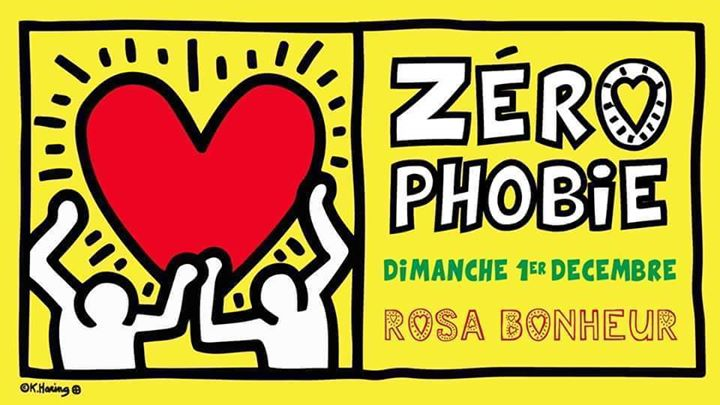 Zérophobie in Paris le Sun, December  1, 2019 from 06:30 pm to 11:45 pm (After-Work Gay Friendly, Lesbian Friendly)
