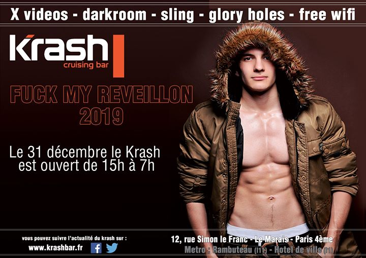 ╰☆╮ FUCK MY Reveillon╰☆╮ in Paris le Tue, December 31, 2019 from 03:00 pm to 07:00 am (Sex Gay)