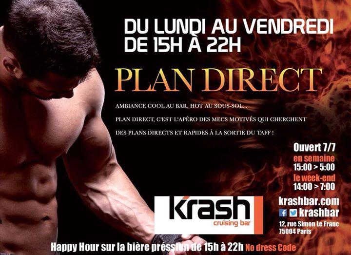 Plan Direct à Paris le lun. 29 juillet 2019 de 19h00 à 22h00 (Sexe Gay)