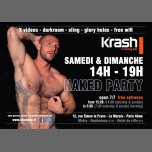 Naked Party - Krash à Paris le dim. 24 février 2019 de 14h00 à 19h00 (Sexe Gay)