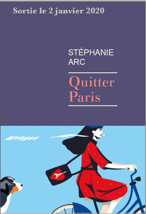 Rencontre Quitter Paris, Stéphanie Arc chez Violette and Co a Parigi le ven 24 gennaio 2020 19:00-22:00 (Incontri / Dibatti Gay, Lesbica, Trans, Bi)