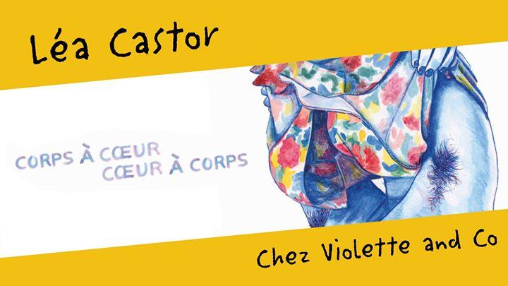 Léa Castor en dédicace chez Violette and Co in Paris le Fri, December 13, 2019 from 06:30 pm to 09:30 pm (Meetings / Discussions Gay, Lesbian, Trans, Bi)