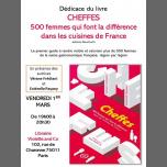 """Dédicace de """"Cheffes"""" ! in Paris le Fr  1. März, 2019 19.00 bis 20.30 (Begegnungen / Debatte Gay, Lesbierin, Transsexuell, Bi)"""
