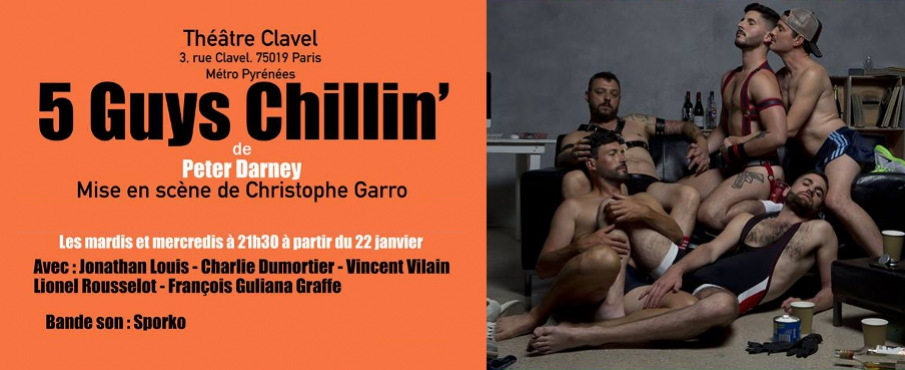 5 Guys Chillin' in Paris le Di 26. Februar, 2019 21.30 bis 22.50 (Theater Gay)