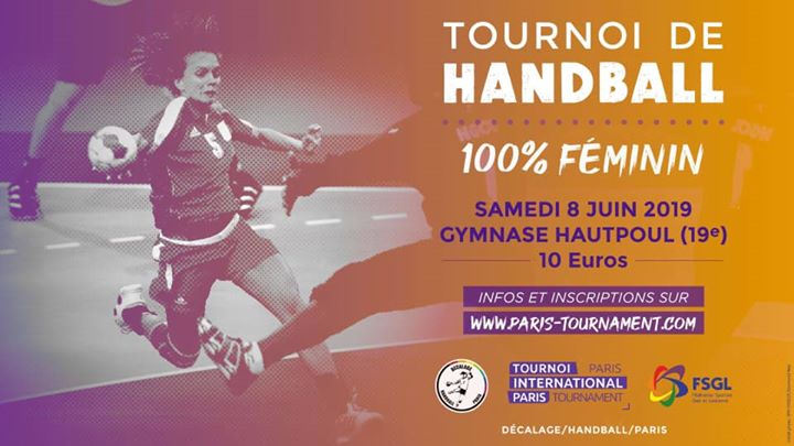 TIP Handball Féminin le 8 juin 2019 in Paris le Sat, June  8, 2019 from 09:30 am to 05:30 pm (Sport Gay, Lesbian)