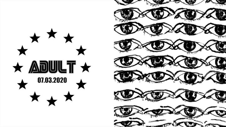 ADULT #7mars in Paris le Sat, March  7, 2020 from 11:30 pm to 06:00 am (Clubbing Gay)