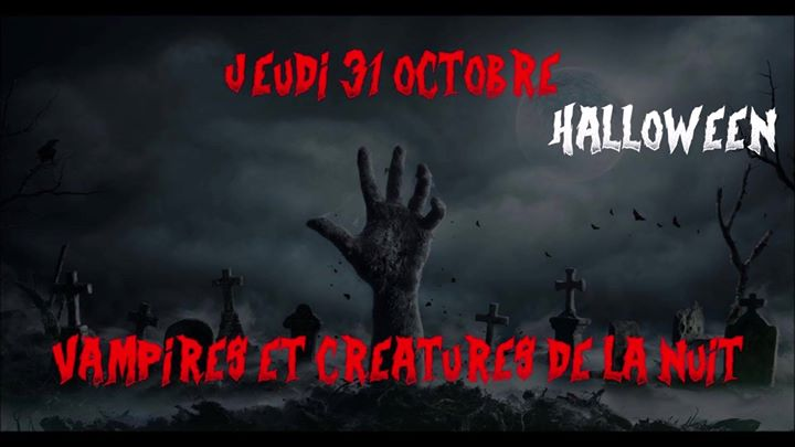 Halloween - Vampires et Créatures de la nuit in Paris le Thu, October 31, 2019 from 08:00 pm to 11:30 pm (After-Work Gay, Lesbian, Hetero Friendly)