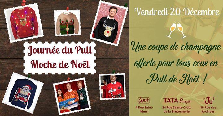 Journée du Pull (Moche) de Noël in Paris le Fri, December 20, 2019 from 11:00 am to 11:00 pm (After-Work Gay, Lesbian, Hetero Friendly)