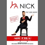 YA NICK Fait Son Show in Paris le Tue, December 11, 2018 from 09:30 pm to 11:00 pm (Show Gay Friendly, Lesbian Friendly)