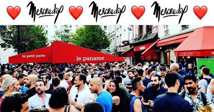 巴黎MercrediX Le Paname2019年 6月18日,18:00(男同性恋 下班后的活动)