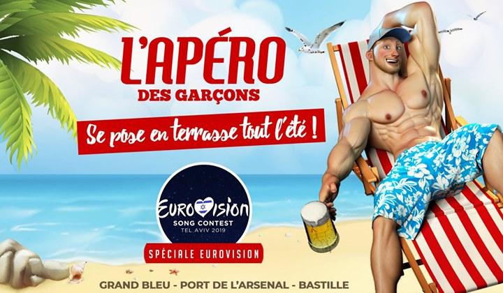 L'apéro des garçons se pose en terrasse tout l'été ! à Paris le sam. 18 mai 2019 de 18h00 à 02h00 (After-Work Gay)