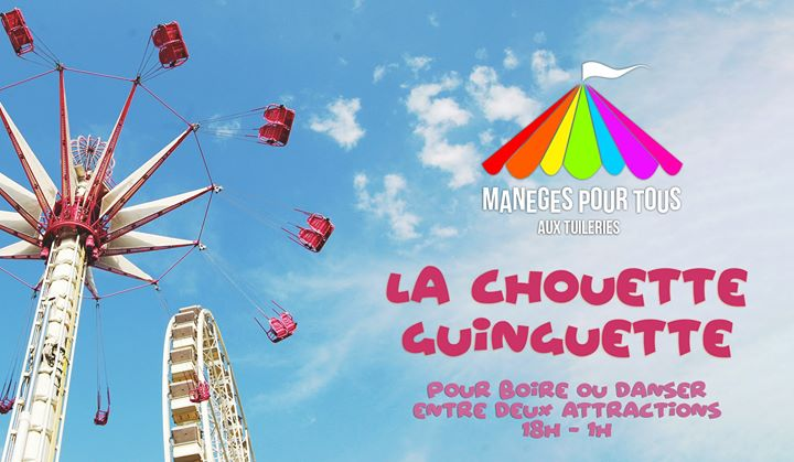 La Chouette Guinguette à Paris le ven. 21 juin 2019 de 18h00 à 01h00 (After-Work Gay)