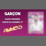 Garçon Magazine N°19 - Soirée de lancement in Paris le Fri, January  4, 2019 from 07:00 pm to 11:00 pm (After-Work Gay)