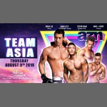 AZN - Team Asia (free till 1am with pass) a Parigi le gio  9 agosto 2018 23:00-06:00 (Clubbing Gay)