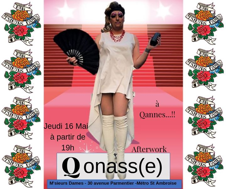 Qonasse fait son Qannes en Paris le jue 16 de mayo de 2019 19:00-01:00 (After-Work Gay Friendly)