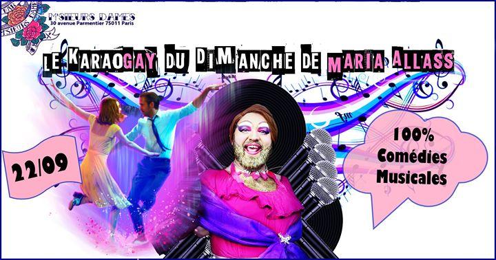 Karaogay : 100% comédies musicales à Paris le dim. 22 septembre 2019 de 18h00 à 00h00 (After-Work Gay Friendly)