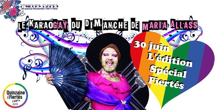 Karaogay : Spécial Fiertés in Paris le Sun, June 30, 2019 from 06:00 pm to 12:00 am (After-Work Gay Friendly)
