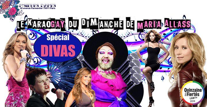 Karaogay : Spécial Divas en Paris le dom 23 de junio de 2019 18:00-00:00 (After-Work Gay Friendly)