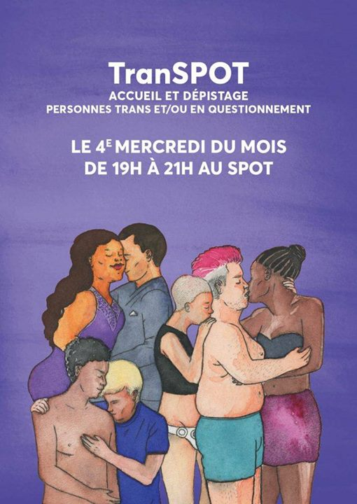 TranSPOT in Paris le Wed, May 22, 2019 from 07:00 pm to 09:30 pm (Meetings / Discussions Gay, Lesbian)
