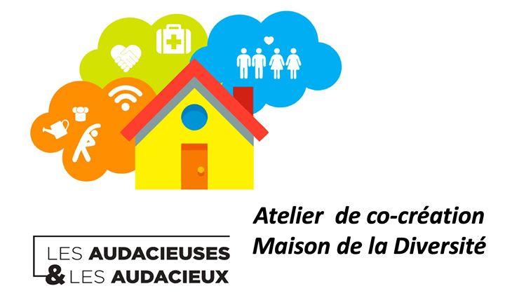 Atelier de co-création Maison de la Diversité em Paris le sáb,  1 junho 2019 14:00-17:00 (Reuniões / Debates Gay, Lesbica, Hetero Friendly, Trans, Bi)