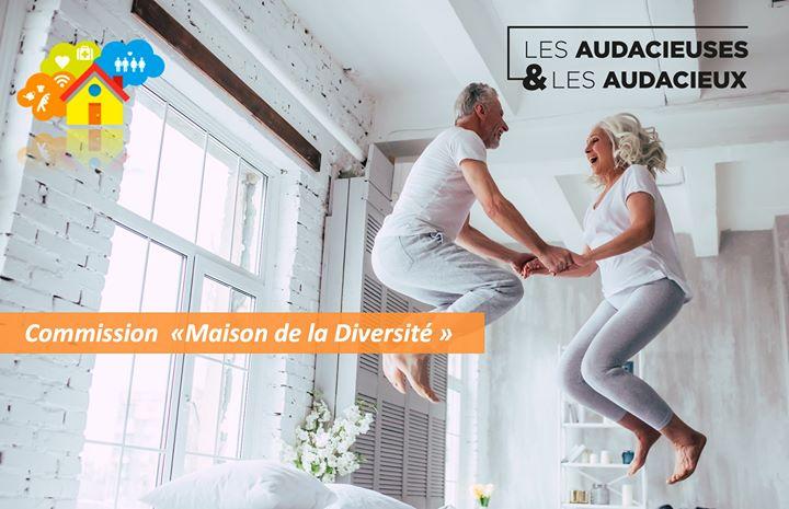 """Commission """"Maison de la Diversité"""" N°1 in Paris le Sat, January 11, 2020 from 02:00 pm to 04:00 pm (Meetings / Discussions Gay, Lesbian, Hetero Friendly, Trans, Bi)"""