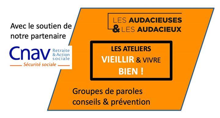 """Atelier """"Vieillir & Vivre Bien"""" - Quand l'appétit va, tout va ! in Paris le Tue, October 22, 2019 from 06:00 pm to 08:00 pm (Workshop Gay, Lesbian, Hetero Friendly, Trans, Bi)"""