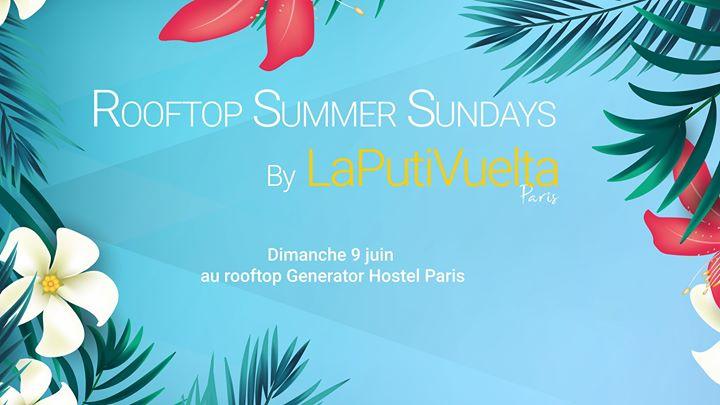 Rooftop Summer Sundays by LaPutiVuelta -Dim 9 juin- à Paris le dim.  9 juin 2019 de 16h00 à 22h00 (After-Work Gay)
