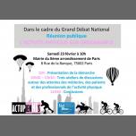 Grand Débat National: L'activite Physique sur Ordonnance in Paris le Sa 23. Februar, 2019 10.00 bis 13.00 (Begegnungen / Debatte Gay, Lesbierin, Transsexuell, Bi)