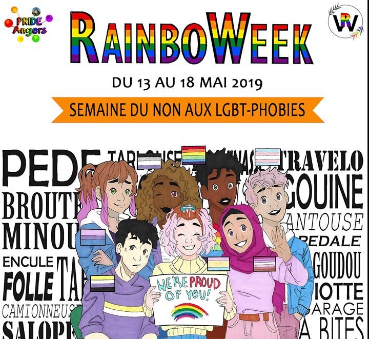 Conférence : Histoire des Luttes LGBT du Stonewall à nos jours in Angers le Mon, May 13, 2019 from 09:30 am to 12:30 pm (Meetings / Discussions Gay, Lesbian, Trans, Bi)