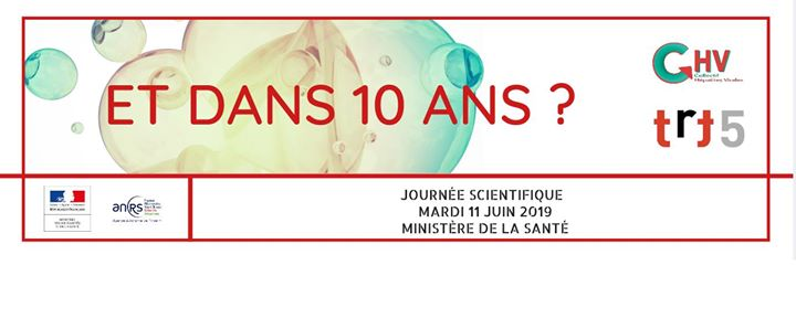 TRT5 CHV : 21ème Journée scientifique in Paris le Tue, June 11, 2019 from 09:00 am to 04:00 pm (Meetings / Discussions Gay, Lesbian, Trans, Bi)
