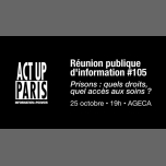 RéPI n°105 • Prisons : quels droits, quel accès aux soins ? in Paris le Thu, October 25, 2018 from 07:00 pm to 10:00 pm (Health care Gay, Lesbian, Trans, Bi)