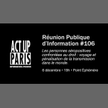 RéPI n°106 • Les séropositifVEs confrontéEs au droit in Paris le Thu, December  6, 2018 from 07:00 pm to 10:00 pm (After-Work Gay, Lesbian)