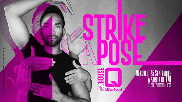 Strike A Pose a Parigi le mer 25 settembre 2019 17:00-02:00 (After-work Gay, Orso)