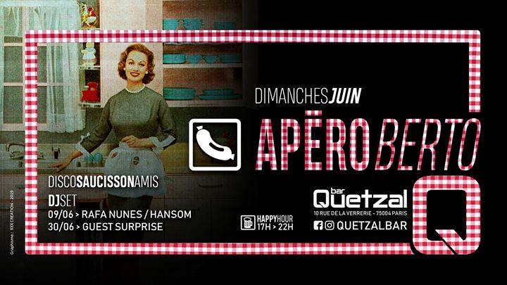 L'ApéRoberto en Paris le dom  9 de junio de 2019 17:00-02:00 (After-Work Gay, Oso)