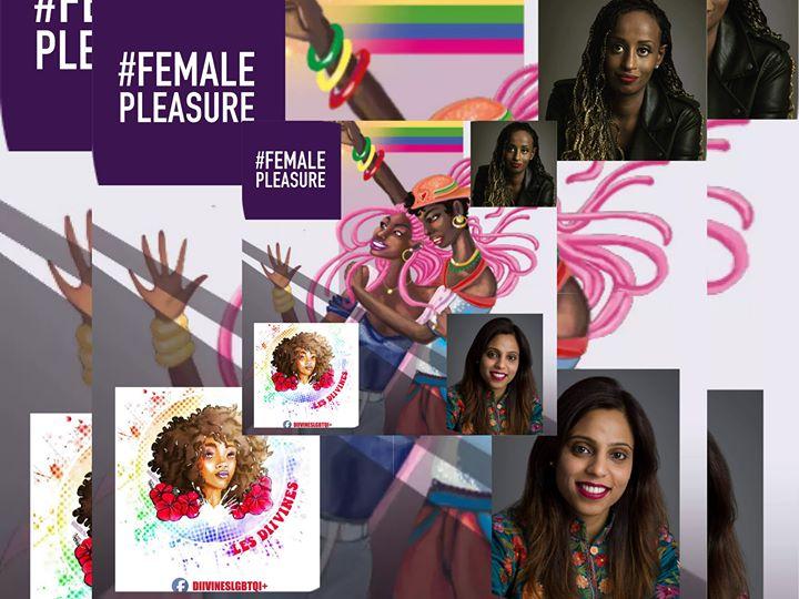 FEMALE PLEASURE INVINCIBLES Diivineslgbtqi+ OUVRE LA CAMÉRA L* a Parigi le lun 24 giugno 2019 19:30-23:30 (Cinema Lesbica)