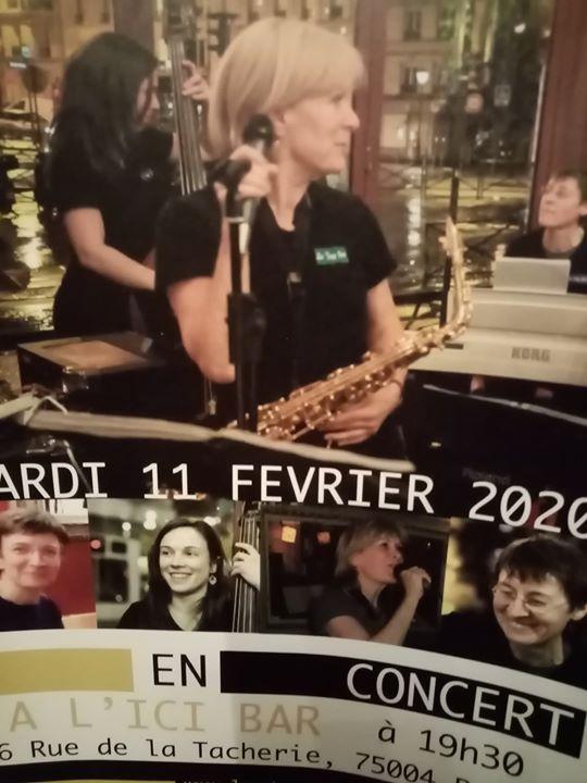 巴黎Soirée des jazz Girls2020年 7月11日,19:30(女同性恋 下班后的活动)