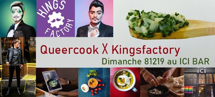 Queercook X Kingsfactory en Paris le dom  8 de diciembre de 2019 17:00-23:30 (After-Work Lesbiana)
