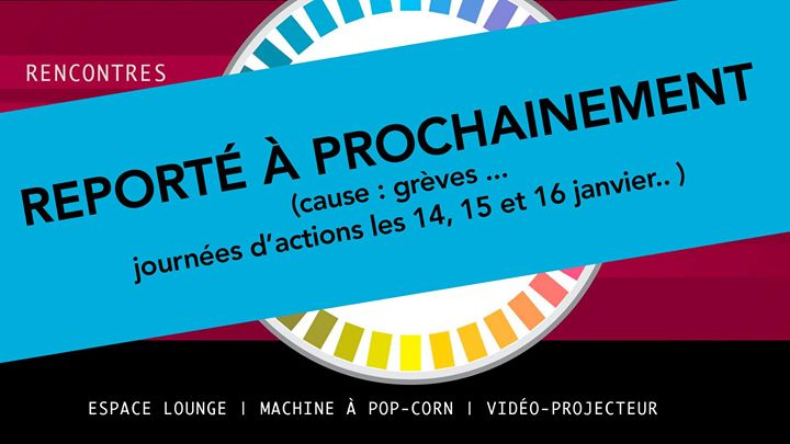 Reporté prochainement (cause grèves) L'apéro des Graphistes #1 in Paris le Tue, January 14, 2020 from 08:00 pm to 12:30 am (After-Work Gay, Lesbian)