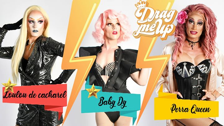 Drag Me Up Saison 2 - Cabaret Night a Parigi le dom  9 febbraio 2020 20:00-02:00 (After-work Gay, Lesbica)